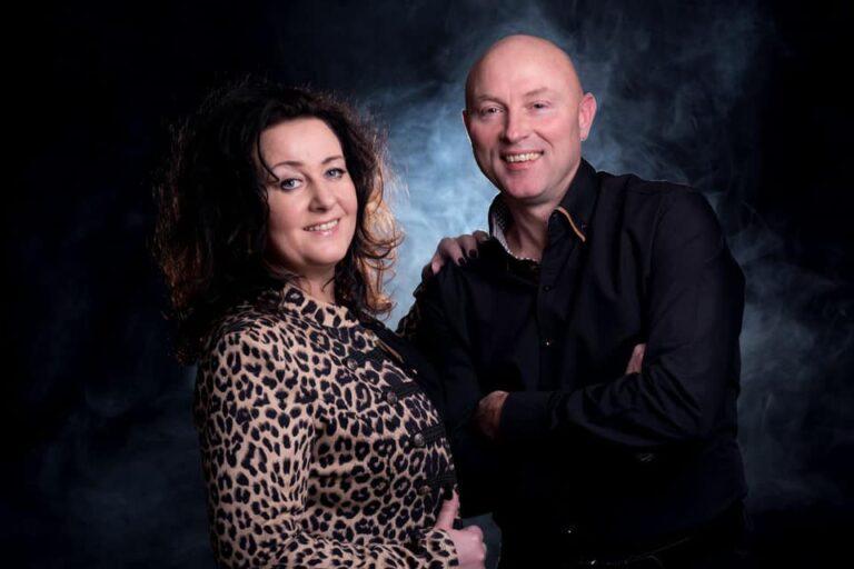 Peter en Monique zangduo zanger zangeres